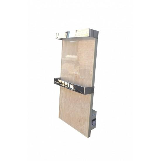 Полотенцесушитель панельный керамический OPTILUX РК 330 HВ с терморегулятором